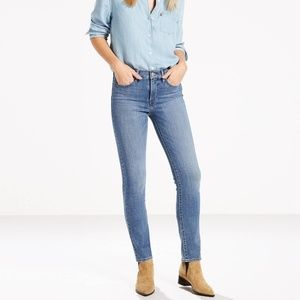 Levi's 312 Shaping Slim Jeans, Bourbon Blue